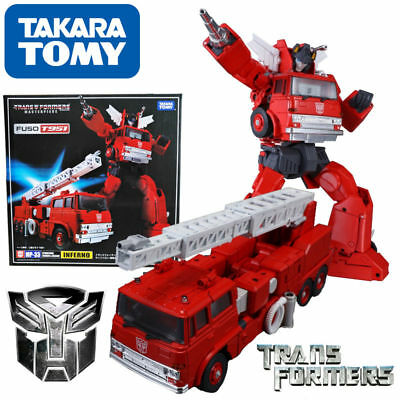 Transformers FUSO T951 Masterpiece MP-33 INFERNO Truck Action Figure Autobot Toy