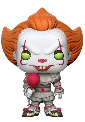 Pennywise with Balloon Exclusive Pop! IT 2017