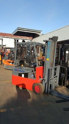 Nichiy Fbt18 Electric Forklift 4.5M Lift Container Mast $6,999+Gst Negotiable