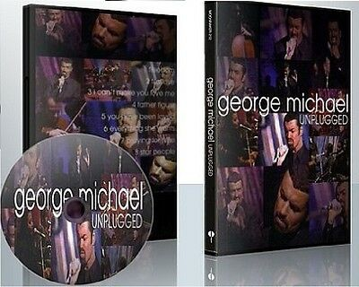 George Michael MTV Unplugged RARE DVD