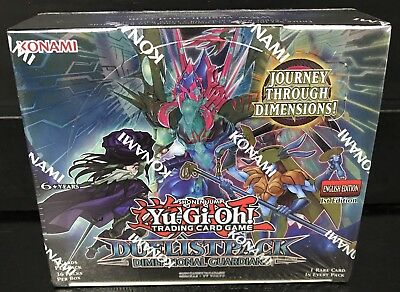 YU-GI-OH! Dimensional Guardians Duelist Pack (sealed) Booster Box *36 Packs*