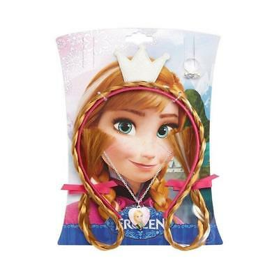 Disney Frozen Anna Hair & Jewellery Accessory Ideal for Kids Age3+ *BRAND NEW*