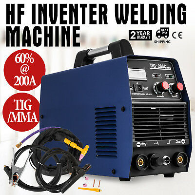 Inverter Welder 200A TIG ARC MMA Welding Machine Stick Welder Professional 230V