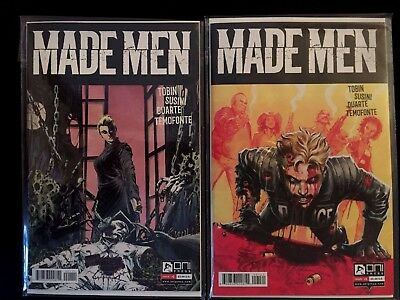 Made Men #1 Duarte Ferreyra (A + B Set) 2 Comic Set  Oni Press 2017 2017 NM