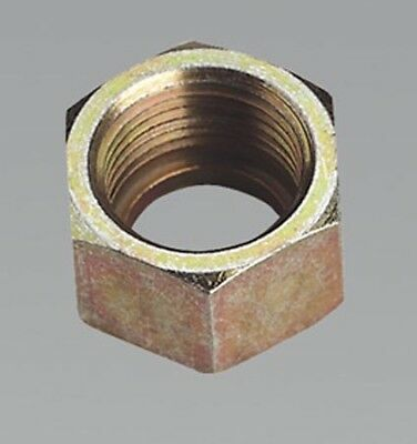 """AC49 SEALEY UNION NUT 3/8""""BSP PACK OF 5  [Air Line Couplings & Fittings] NEW!"""