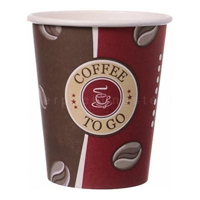 "Kaffeebecher Topline ""Coffee to go"" Pappe beschichtet 8oz. 200 ml"