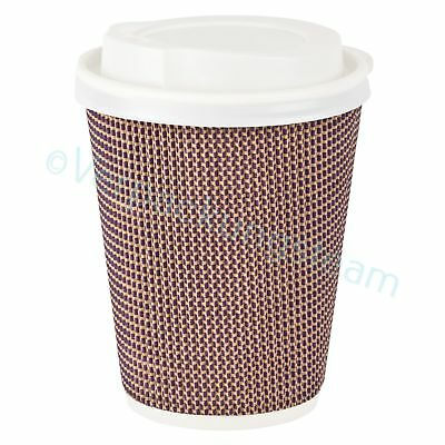 Premium Komfort Doppelwand Kaffeebecher Coffee To Go mit Trinkdeckel 300/420ml