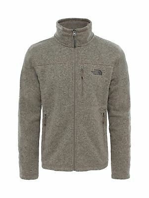 The North Face Men's Gordon Lyons Full Zip Jacket Falcon Brown Heather Large -