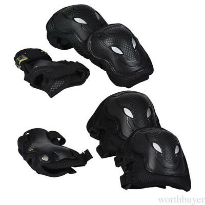 Cycling Skate Knee Elbow Pads Wrist Guards Protective Gear Set Body Protector TY