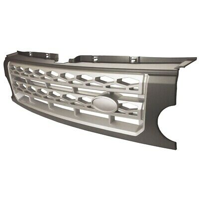 Land Rover Discovery 3 Front Grille Upgrade Disco 4 Style Conversion Grey/silver