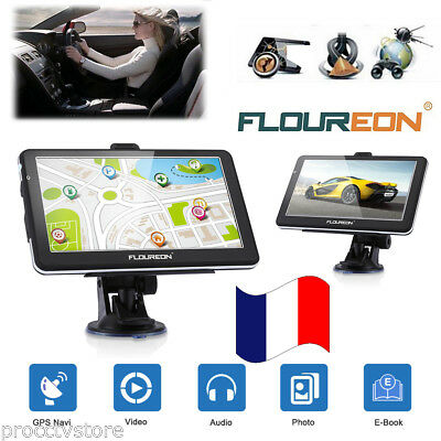 "7"" HD Système Navigation Navi GPS Tactile FM MP3 Europe Camion Voiture 8GB FREE"