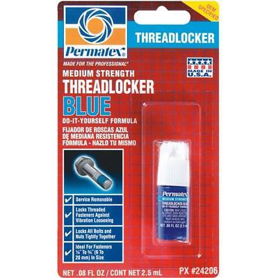 Permatex Medium Strength Blue Threadlocker 2.5 ml 24206