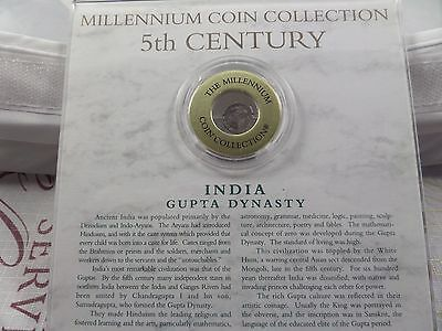 Millennium Collection 5th Century Ancient India Gupta Dynasty coin