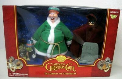 MICKEY 's Christmas Carol: THE GHOSTS OF CHRISTMAS Action Figures NUOVO NEW