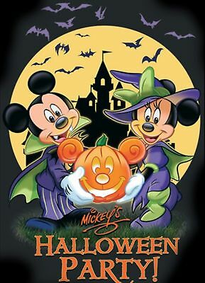 TICKETS DISNEY's MICKEY'S NOT SO SCARY HALLOWEEN PARTY! ORLANDO - PICK DATE/TIME