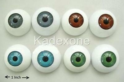Pair of fake eyes for halloween mask fancy dress false eyeballs B