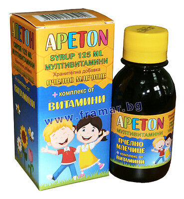 APPETON appetite booster syrup multivitamin for kids with royal jelly immunity