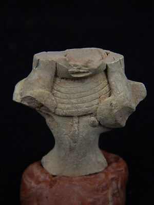 Ancient Teracotta Mother Goddess Torso Indus Valley 2000 BC  #TR15244