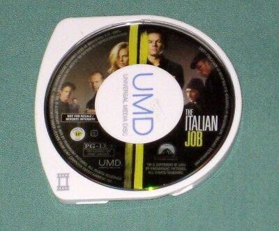 The Italian Job Sony PSP UMD 2003 action MOVIE (Eng, 2005) disc-Cartridge ONLY