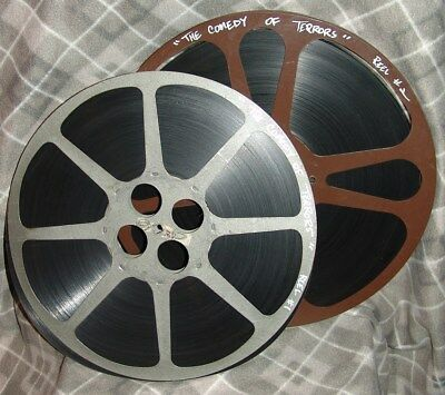 The Comedy of Terrors 16mm feature film SCOPE 2 reels/in box COMPLETE