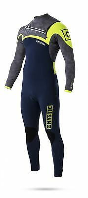 Mystic Drip Front Zip 5/4 Wetsuit – Navy - Large Tall