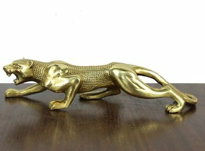 "10"" Leopard copper handicrafts Home decoration office furnishing articles"