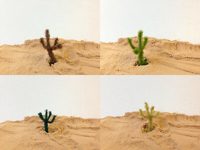Serious-Play Cactus Plants A- Handcrafted Model Scenery Railway desert ho n tree