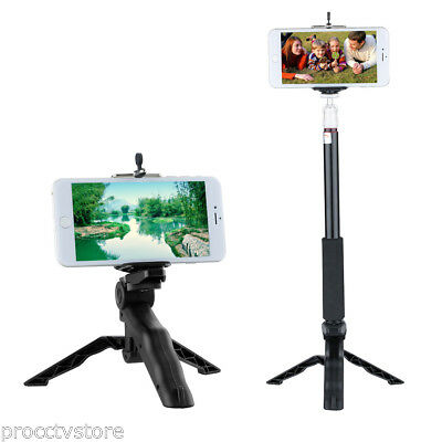Folding Mini Tripod Stand Handheld Grip Stabilizer for SmartPhone Gopro Cameras