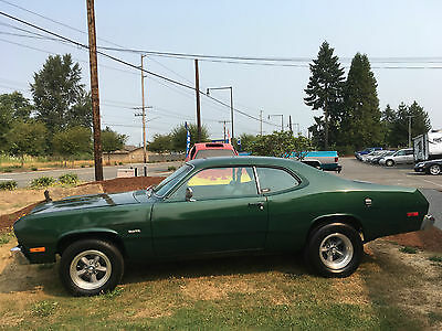 1974 Plymouth Duster 2 door sports coupe 1974 Plymouth duster 2 door sports coupe 318 factory a/c, Origional,