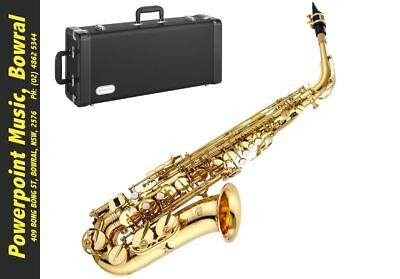 Jupiter JS567GL Alto Saxophone with high F# + Case + Full 5 Year Warranty