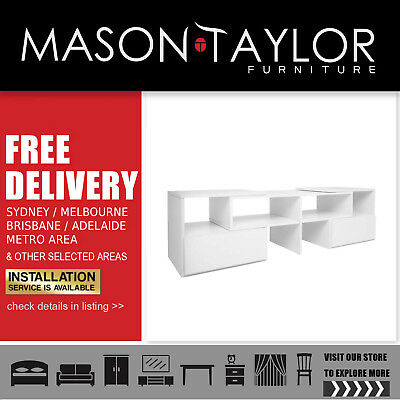 FREE DELIVERY(T&C) Adjustable TV Stand Entertainment Unit Cabinet Lowline Drawer