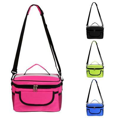 Travel Outdoor Insulated Cool Cooler Thermal Lunch Bag Picnic Tote Box Container