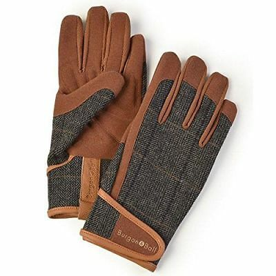 Burgon and Ball Mens/Gents Gardening Gloves - Dig The Glove Size L/XL TWEED #15