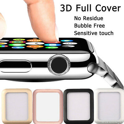 Metal Plated Hard LCD Protective Case Cover For Apple Watch iWatch Series 1/2 S3
