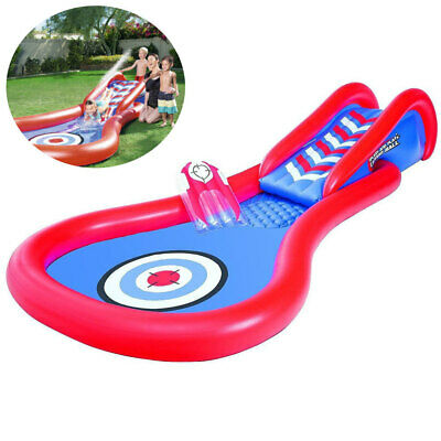 Splash and Play Cannon Ball Water Slide Backyard Inflatable Pool Toy/Game Kids