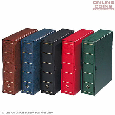 Lighthouse Vario G Large Binder / Slipcase RED - For Banknotes and Stamps