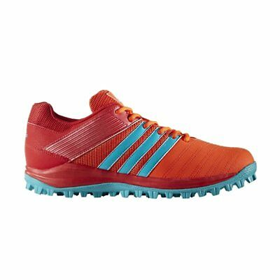 adidas SRS 4 M Hockey Shoes - Scarlet/Energy Blue
