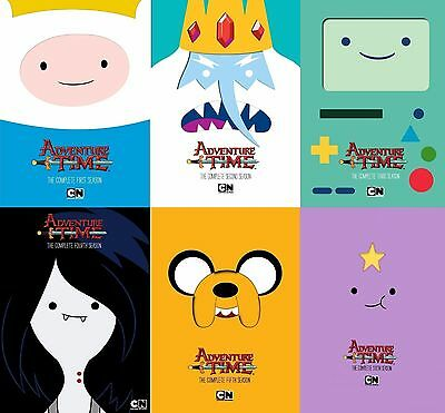 New Adventure Time The Complete Season 1 2 3 4 5 6 Dvd