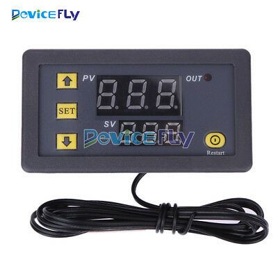 W3230 LCD 12V 20A Digital Thermostat Temperature Controller Meter Regulator