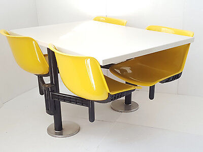 Osvaldo Borsani Edition Tecno Bench Modus 4 Seats Retractable 1972 Vintage