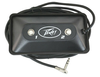 Peavey 03022910 Multi-purpose 2-button footswitch