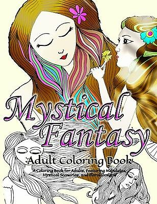 Mystical / Fantasy Adult Coloring Book