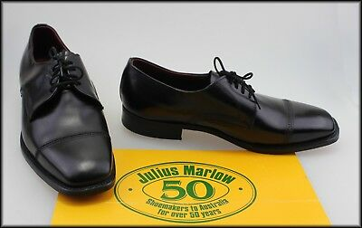 Julius Marlow Mens Vintage Lace Up Dress Shoes Size 8 Eee Like New