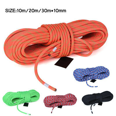 Climbing Auxiliary Rope Aerial Work Protector Fire Rescue Cords 10mm Durable BIN