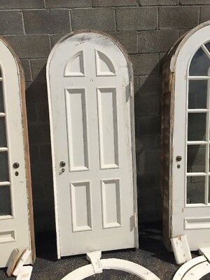 Pg 7 Antique Arch Top Passage Door With Jam 30 3/8 X 79 X 3. 6