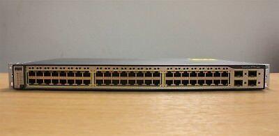 Cisco Catalyst 3750 Series Ethernet Network 48 Port Switch WS-C3750-48TS-S V09