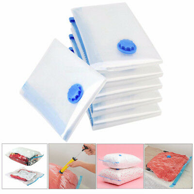5x Vacuum Storage Bag Space Save Saving Anti Pest Clothes Quilts Organizer Dorm