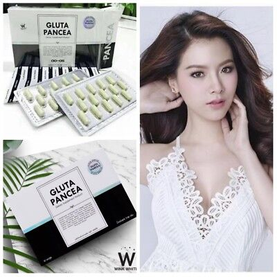 1 Box New Gluta Pancea L-Glutathione Concentrated White Faster Reduce Acne A+