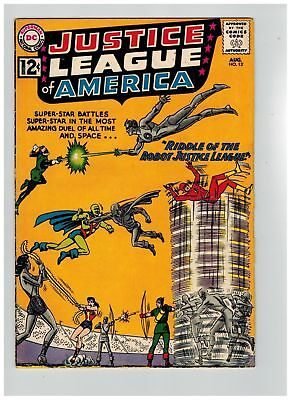 Justice League of America (1960) #  13 (4.0-VG) (196628)