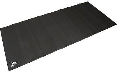 FWE Folding Turbo Training Mat With Storage Bag - Black - From Evans Cycles